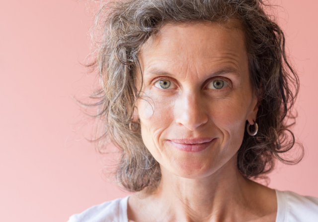 a finely ageing woman who has used non-invasive treatments