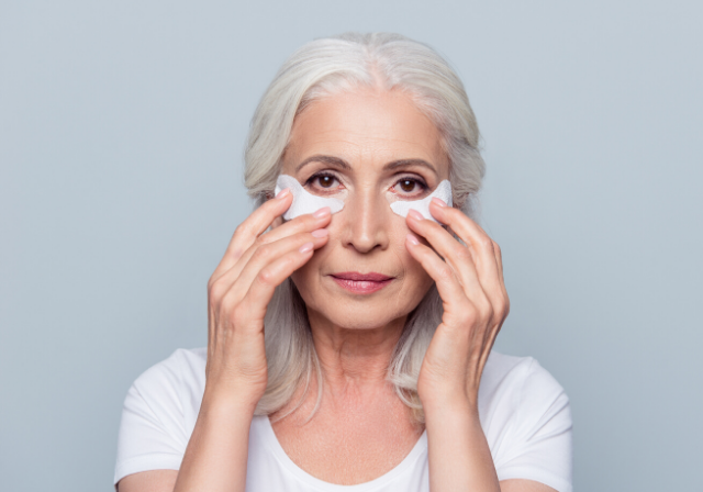 woman making tired, puffy and baggy skin around the eyes can be a thing of the past.